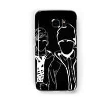 Twenty One Pilots Black and White Tumblr Inspired Outline Samsung Galaxy Case/Skin