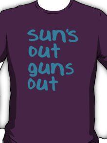 Sun's Out Guns Out - 22 Jump Street T-Shirt