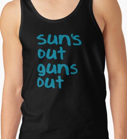 Sun's Out Guns Out - 22 Jump Street Tank Top