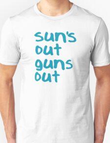 Sun's Out Guns Out - 22 Jump Street Unisex T-Shirt