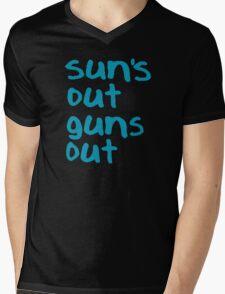 Sun's Out Guns Out - 22 Jump Street Mens V-Neck T-Shirt