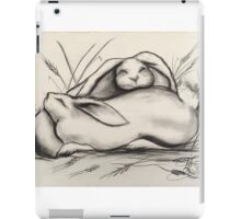 Sleeping Rabbits iPad Case/Skin