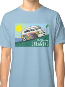 VW T1 cartoon California dreaming Classic T-Shirt