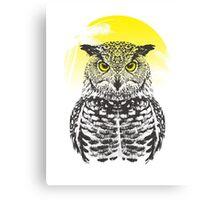 Summer Owl Canvas Print