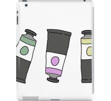 art paint tubes  iPad Case/Skin