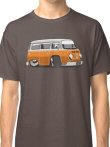 VW T2 Microbus cartoon orange Classic T-Shirt