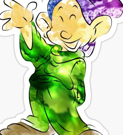 Dopey Sticker