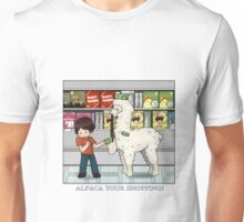 Alpaca your shopping! Unisex T-Shirt