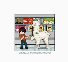 Alpaca your shopping! Unisex T-Shirt