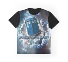 Whovians to Infinity Graphic T-Shirt