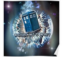 Whovians to Infinity Poster