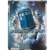 Whovians to Infinity iPad Case/Skin