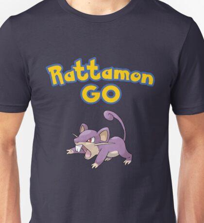 Rattamon Go! Unisex T-Shirt