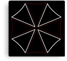 °GEEK° Umbrella Corporation Neon Logo Canvas Print