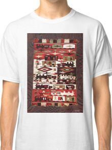 Native American Indian Southwest Blanket Red Classic T-Shirt