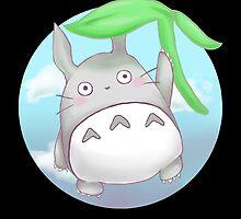 Totoro - Float by Porzellan