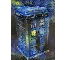 Tardis - Contrasts of Beauty Photographic Print