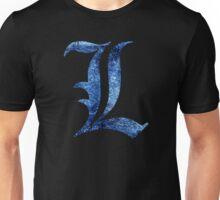 °MANGA° Death Note L Space Logo Unisex T-Shirt
