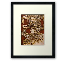 Homage to the Mayan People Framed Print