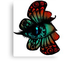 Colourful Butterfleye Canvas Print