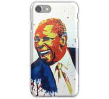 BB King portrait iPhone Case/Skin