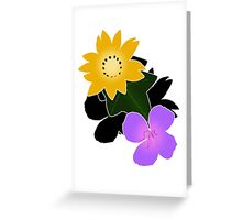 Florally Greeting Card