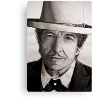 Bob Dylan portrait Canvas Print