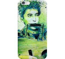 Young Bob Dylan portrait iPhone Case/Skin
