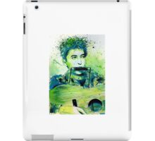 Young Bob Dylan portrait iPad Case/Skin