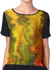 Colorful Thoughts by rafi talby Chiffon Top