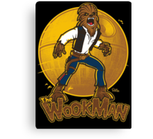 The Wookman Canvas Print