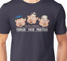 The Three Little Pigs 3 Disney's classics Unisex T-Shirt