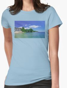 View 2 Womens Fitted T-Shirt