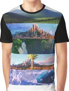 ZOOTOPIA's SCENERY Graphic T-Shirt