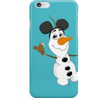 Sidekicks at Disneyland - Olaf iPhone Case/Skin