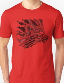 Stripes and Lion Head Unisex T-Shirt