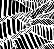Stripes and Lion Head Sticker