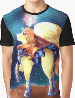 Alicorn Armor and the Night Graphic T-Shirt