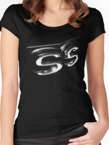 chevrolet camaro ss, camaro ss t-shirt Women's Fitted Scoop T-Shirt