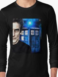 Doctor Who - Portrait of 12th Long Sleeve T-Shirt