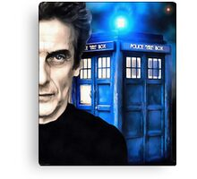 Doctor Who - Portrait of 12th Canvas Print