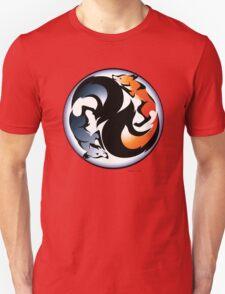 Yin Yang Kitsune Unisex T-Shirt
