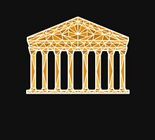 Geometric Pantheon in colour with white outline Unisex T-Shirt