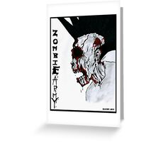 Zombie Army Greeting Card