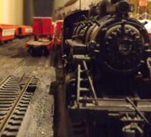 Model Locomotive, Santa Fe, New Mexico Sticker