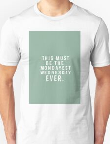 Days of the WEEK Unisex T-Shirt