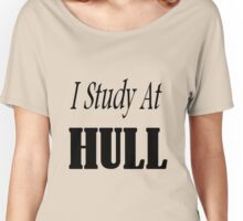 I Study At Hull Women's Relaxed Fit T-Shirt
