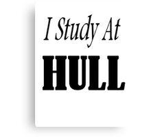 I Study At Hull Canvas Print