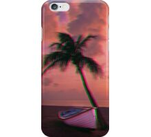 Trippy palm tree iPhone Case/Skin