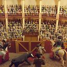Miniature Bullfighting Ring, Santa Fe, New Mexico by lenspiro